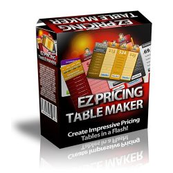 EZ Pricing Table Maker