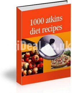 1000 Atkin's Diet Recipes