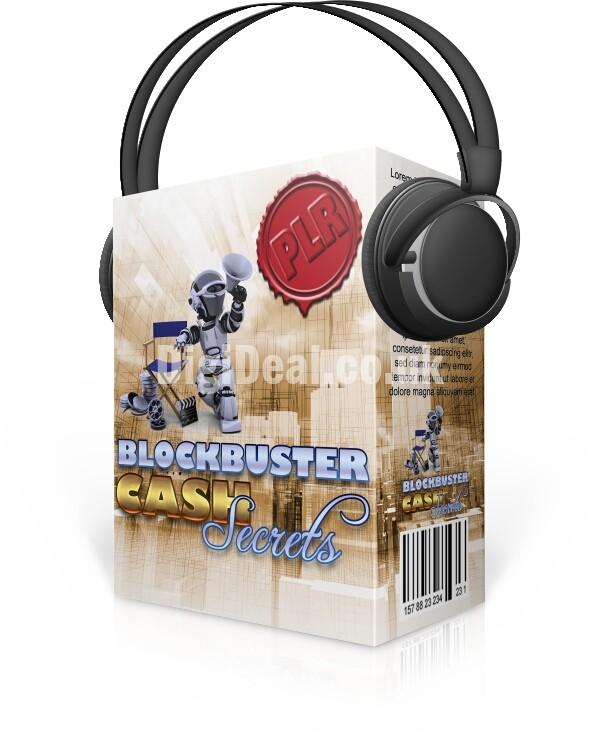 Blockbuster cash secrets audio