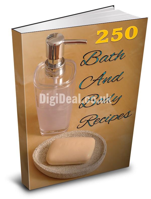 Bath and body recipes