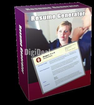 Resume Generator Software
