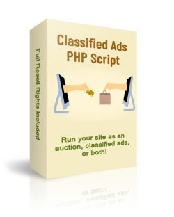 Classified Ads/Auction PHP Script
