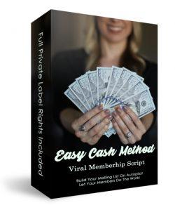Easy Cash Method Viral Membership Script