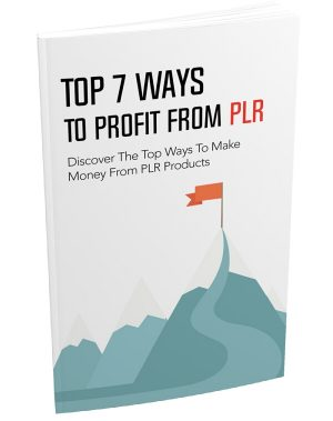 Top 7 Ways To Profit From PLR