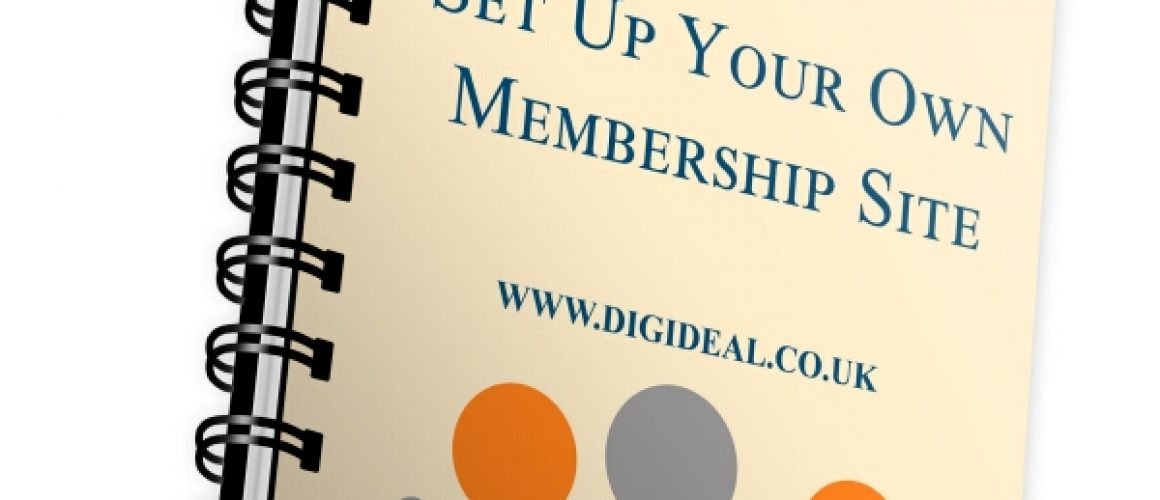 Set up your own membership sites